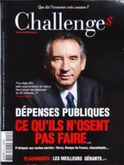 Challenges N°293 du 22/03/2012 - Couverture - Format classique