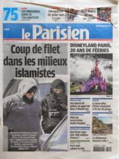 Parisien 75 (Le) N°21010 du 31/03/2012 - Couverture - Format classique