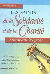 Saints De La Solidarite Et Charite (Les) - Intérieur - Format classique