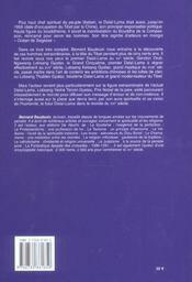 Grand Livre Des Dalai Lamas (Le) - 4ème de couverture - Format classique