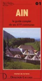 Ain ; le guide complet de ses 419 communes - Couverture - Format classique