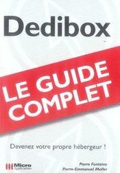 Dedibox guide complet - Intérieur - Format classique