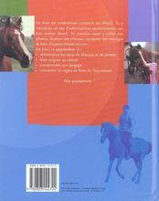 Mon Ami Le Cheval - 4ème de couverture - Format classique