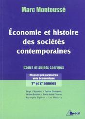 Economie et hist. societes contemp. - Intérieur - Format classique