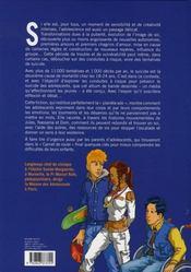 Le passage ; les conduites à risque à l'adolescence - 4ème de couverture - Format classique