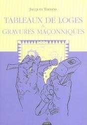Tableaux De Loges Et Gravures Maconniques - Intérieur - Format classique