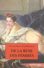 De La Ruse Des Femmes - Intérieur - Format classique