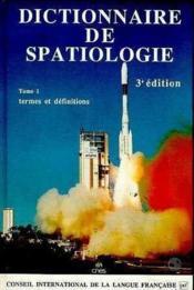 Dictio De Spatiologie T.1 - Couverture - Format classique