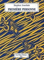 Premiere Personne - Couverture - Format classique