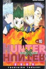Hunter X Hunter T10 - Couverture - Format classique