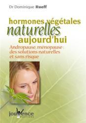 Hormones Vegetales Naturelles Nouvelle Edition N.87 - Couverture - Format classique