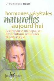 Hormones Vegetales Naturelles Nouvelle Edition N.87 - Intérieur - Format classique
