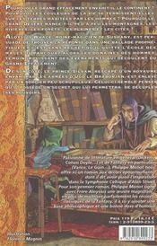 Frere Aloysius Et Le Petit Prince - 4ème de couverture - Format classique