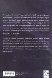Au Pied Du Mont Horeb - 4ème de couverture - Format classique