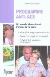 Programme anti-âge - Intérieur - Format classique