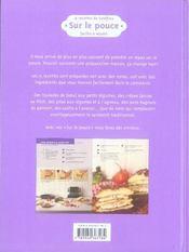 15 recettes de Geoffroy ; sur le pouce - 4ème de couverture - Format classique