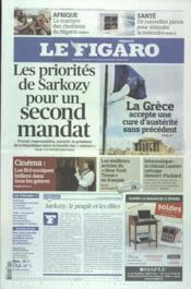Figaro (Le) N°21003 du 10/02/2012 - Couverture - Format classique