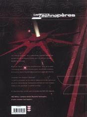 Les Technopères T.4 ; Halkattraz, l'étoile des bourreaux - 4ème de couverture - Format classique