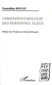 Chronopsychologie des personnes âgées - Couverture - Format classique