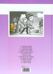 Cédric t.5 ; quelle mouche le pique - 4ème de couverture - Format classique