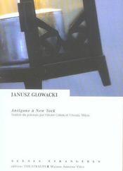 Antigone A New York - Intérieur - Format classique