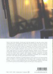 Antigone A New York - 4ème de couverture - Format classique