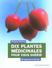 Dix Plantes Medicinales Pour Vous Guerir - Intérieur - Format classique
