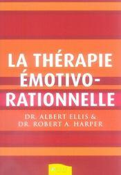 La thérapie emotivo-rationnelle - Intérieur - Format classique