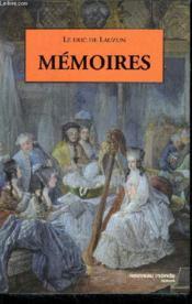 Memoires du duc de lauzun - Couverture - Format classique