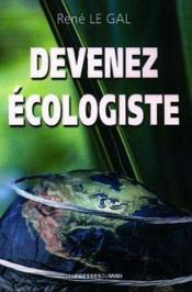 Devenez Ecologique - Couverture - Format classique