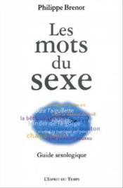 Les Mots Du Sexe - Couverture - Format classique