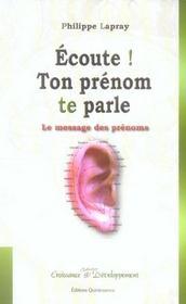 Ecoute ! Ton Prenom Te Parle - Intérieur - Format classique
