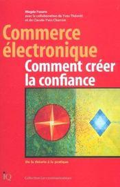 Commerce Electronique Comment Creer La Confiance - Intérieur - Format classique