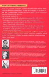 Commerce Electronique Comment Creer La Confiance - 4ème de couverture - Format classique