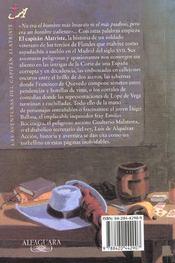 El capitain altriste - 4ème de couverture - Format classique