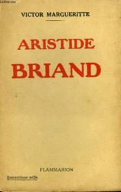 Aristide Briand. - Couverture - Format classique