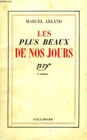 Les Plus Beaux De Nos Jours. - Couverture - Format classique