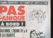PAS D'PANIQUE A BORD ! LE JOURNAL DU CHARIVARI POLITIQUE - KOUCHER, HENRI IV x 4 DE LA CHARITE - Couverture - Format classique