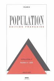 Population N 4 Juillet-Aout 2005 - Intérieur - Format classique