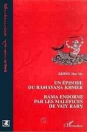 Un épisode du Ramayana khmer - Couverture - Format classique