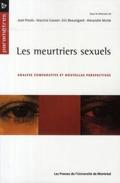 Les meurtriers sexuels - Intérieur - Format classique