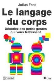 Langage Du Corpa - Couverture - Format classique