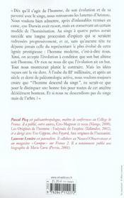 A La Recherche De L'Homme - 4ème de couverture - Format classique