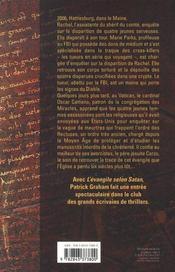 L'évangile selon satan - 4ème de couverture - Format classique