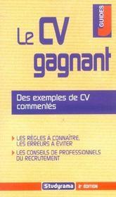 Le cv gagnant - Intérieur - Format classique
