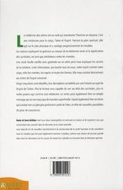Le message des arbres - 4ème de couverture - Format classique