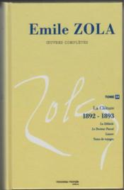Oeuvres complètes t.15 ; la clôture, 1892-1893 - Couverture - Format classique