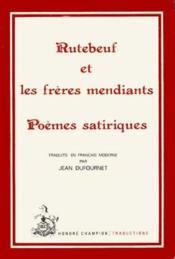 Rutebeuf Et Les Freres Mendiants.Traduction En Francais Moderne - Couverture - Format classique