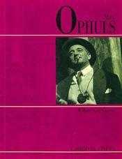 Max Ophuls - Intérieur - Format classique