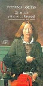 Cette Nuit J'Ai Reve De Bruegel - Couverture - Format classique